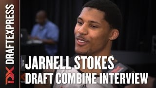 Jarnell Stokes Draft Combine Interview