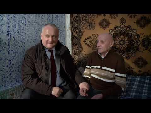 Глава государства навестил единственного ветерана войны в селе Красноармейское