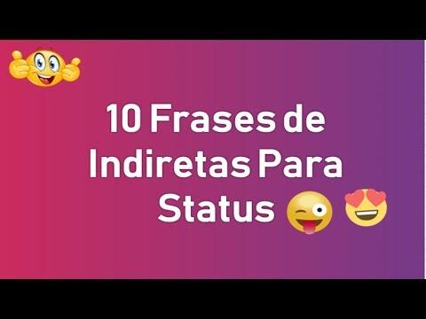 Frases de Indiretas Para Status