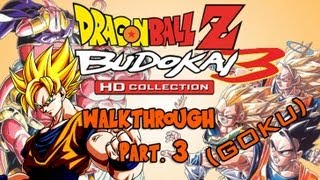 Dragon Ball Z HD Collection Walkthrough - Budokai 3 (Goku) Pt. 3