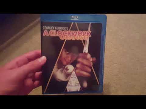 A Clockwork Orange (1971) Blu Ray Unboxing