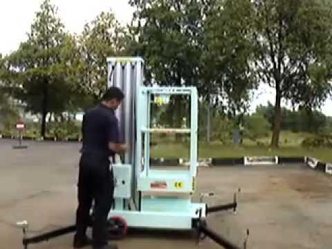 Thang nâng người, thang nâng điện, khung thang nâng từ 6 đến 20M - 0915.886.488