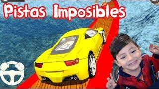 Impossible Stunt Car Tracks Racing | Juego de carros para niños | Pistas de Carreras Imposibles