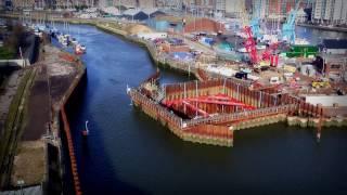 Ipswich Tidal Barrier Construction