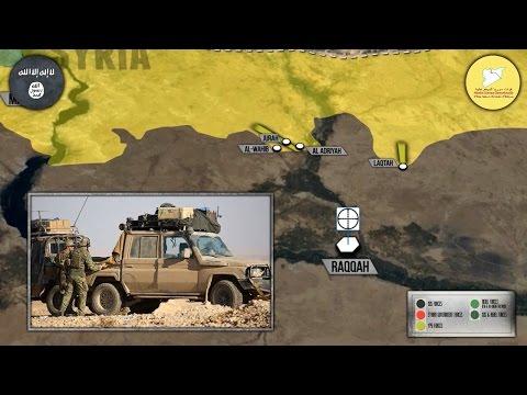 7 ноября 2016. Военная обстановка в Сирии. Начало наступления на Ракку. (видео)