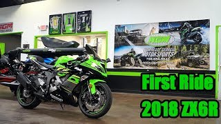 1. 2018 Kawasaki ZX6R First Ride Review | Ninja 636