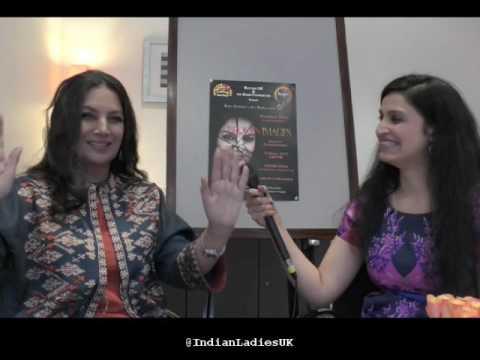 Shabana Azmi gets candid with Indian Ladies UK