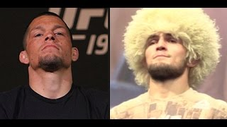 Video Khabib Nurmagomedov Says Nate Diaz Refused to Fight Him Three Times! MP3, 3GP, MP4, WEBM, AVI, FLV Oktober 2018