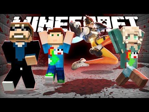 Minecraft: OVERWATCH KILLER RUN!! | MODDED MINI-GAME (видео)