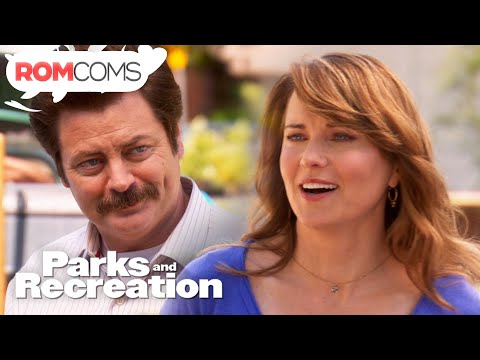 Ron Meets Diane (Warrior Princess) - Parks And Recreation   Love, The Home Of Romance