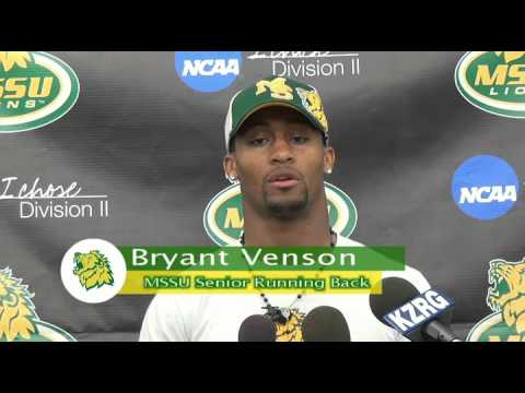 Bryant Venson Press Conference Week 3