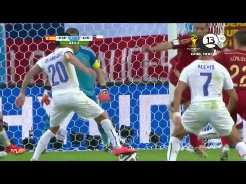 Chile 2   0 España   Mundial Brasil 2014   Claudio Palma