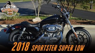 5. 2018 Harley-Davidson® XL883L - SuperLow® Vivid Black