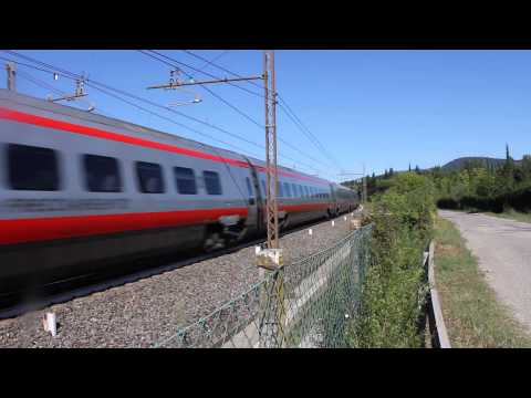New Pendolino ETR 600 near Florence, Italy #4