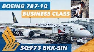 Video BOEING 787-10 Dreamliner Singapore Airlines NEW Business Class FLIGHT REVIEW SQ973 (22.04.18) MP3, 3GP, MP4, WEBM, AVI, FLV Desember 2018