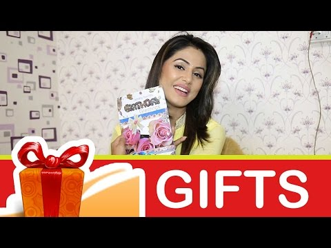 Hina Khan's Birthday gift segment part-01