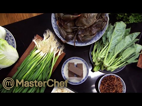 How To Identify These Chinese Ingredients...   MasterChef Australia