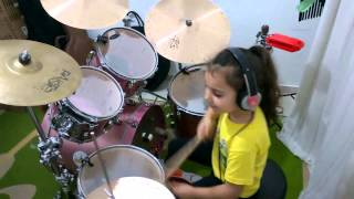 Download Lagu System Of A Down - Toxicity ( Drum cover ) Eduarda Henklein (5 Years-old) Mp3