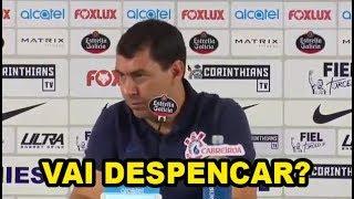 Corinthians perde invencibilidade de 34 jogos sem perder. Veja a análise do treinador Carille. Deixe seu like, comente & se...
