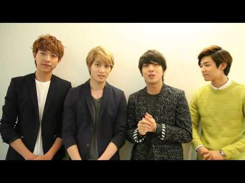 [CNBLUE] Message for BLUE MOON World Tour Live in Seoul