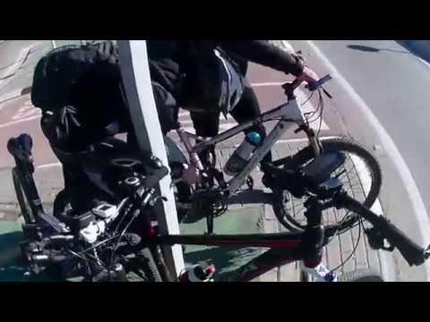En bici a Aranjuez (carril y carretera)
