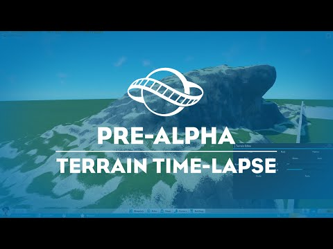 Planet Coaster –  Terrain Editing Time Lapse