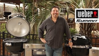 Take a close look at the game changing features of the Weber Summit Charcoal Grill in this video!  Shop Here: https://www.bbqguys.com/search/weber+summit?sstring=weber+summit&term=weber+summit&filters=x1%3Ditem_type%26q1%3DCharcoal%2BGrillKey Features of the Weber Summit Charcoal Grill- Double walled, air insulated design allows for smoking something like brisket overnight, without having to add charcoal- Stainless Steel wire mesh gasket seals in heat & smoke- Integrated snap jet gas ignition makes lighting your charcoal as easy as turning a knob- Included stainless steel hinged heat deflector plate- Charcoal can be set at 2 different levels, depending on desired temperatureFeaturing: Frank AlfieriFilmed/Produced by: Paris Frederick