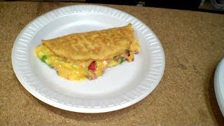 Freeze Dried Omelette! - In a Harvest Right Home Freeze Dryer!
