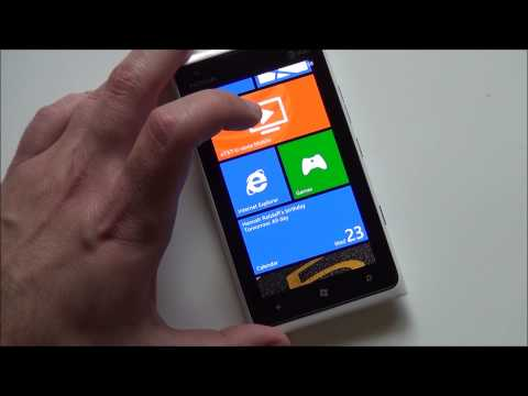 Windows Phone 7.8 Gets Loaded on AT&T's Lumia 900 – Video