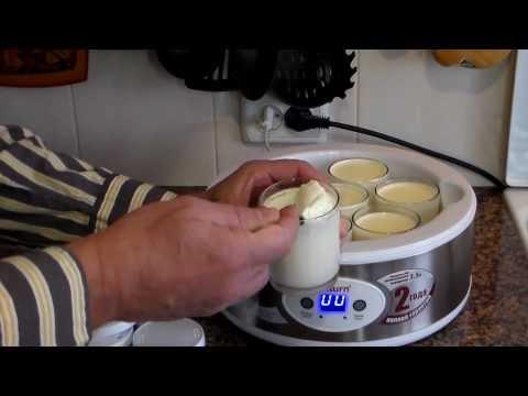 Как приготовит йогурт в домашних условиях