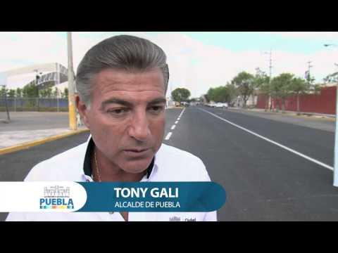 Calles y servicios públicos de calidad para los poblanos: Alcalde Gali