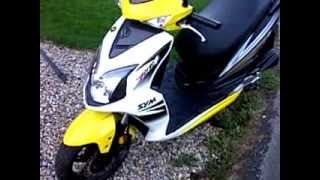 6. sym jet 4 50cc scooter view
