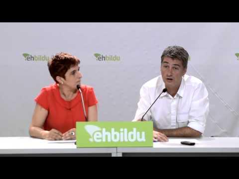 EH Bildu se suma a la manifestación por la libertad de presos enfermos de este sábado en Donostia