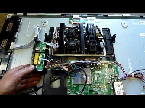 Dick Smith Electronics LCD TV Autopsy