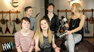 Echosmith Reveal Celebrity Crushes In Funny 20 Questions Game!