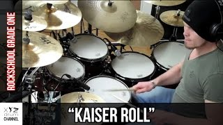 "Download Lagu ""Kaiser Roll"" Rockschool Grade 1 @ Dunx Drum School Mp3"