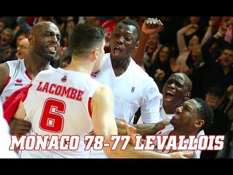 Pro A — Monaco 78 - 77 Levallois — Highlights
