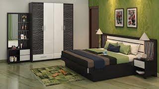Simple bedroom Interior design ideas | Bedroom cupboards and bed interior designs