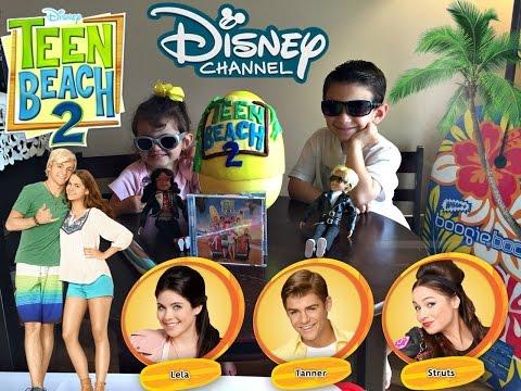 Disney Teen Beach 2!!! Poster, CD, Photocards!! Surprise Egg!!
