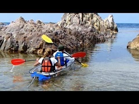 鳥取県の浦富海岸でカヤック体験をしに行こう!