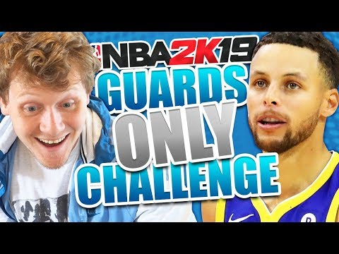 GUARDS ONLY CHALLENGE! *DIFFICULT* NBA 2K19 Online