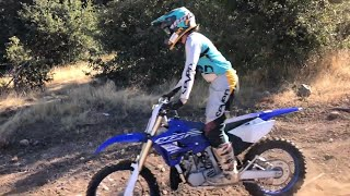 10. Brand New YZ 250x Woods/Moto Dirtbike Riding Clips