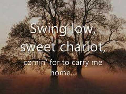 Tekst piosenki Johnny Cash - Swing Low, Sweet Chariot po polsku