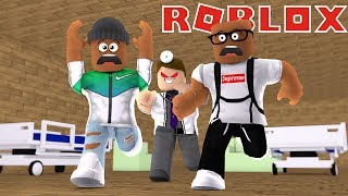 """Today We Are ESCAPING THE EVIL DOCTOR IN ROBLOX.  I Hope You Guys """"LIKE"""" This Roblox Video.Help This Channel Grow To 200,000 Subscribers!Subscribe ➽ http://bit.ly/1PYxftTPrevious Video ➽What Other Games Would You Guys Like To See Played On ThIs Channel?Social Media!Twitter ➽ https://goo.gl/JbolWWInstagram ➽ https://goo.gl/ldMTVRFacebook ➽ https://goo.gl/OfsRblSnapchat ➽ https://goo.gl/fNFQHTMain channel ➽ https://goo.gl/i1AkwASUBSCRIBE TO THE BROS:Kevin ➽ https://goo.gl/pah2sXKaelin ➽  https://goo.gl/DFVdZ8Brief ROBLOX History:Roblox was founded in 2004 by David Baszucki and Erik Cassel.  ROBLOX was formerly known as Dynablocks before it got a name change to ROBLOX in 2005. In 2006 ROBLOX was released to the public.  The current currency for ROBLOX is referred to as ROBUX.ROBLOX is a game that is targeted towards kids of all ages.Some of my favorite ROBLOX mini games are Roblox Deathrun, Escape The iPhone, Escape The High School, and many others.  It is so much fun to role play and roam through the varies of mini games that Roblox has to offer. What are your favorite Roblox games? Be sure to let me know in the comments so that we can see more Roblox videos in the future.Thank You All For Watching  And LET'S CONTINUE GROWING!!!escape the hospital obby roblox  playthrough commentary free robux"""
