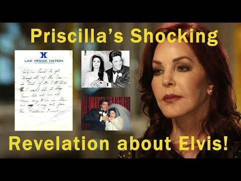Priscilla Presley's new revelation about Elvis and letters he left behind!
