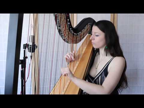 Africa by Toto performed on a Solo Harp