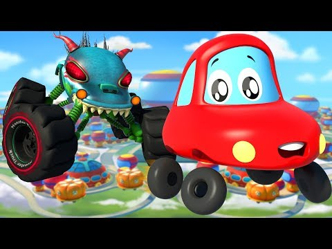 Video Into The Future | Little Red Car | Kindergarten Nursery Rhymes For Babies by Kids Channel download in MP3, 3GP, MP4, WEBM, AVI, FLV January 2017