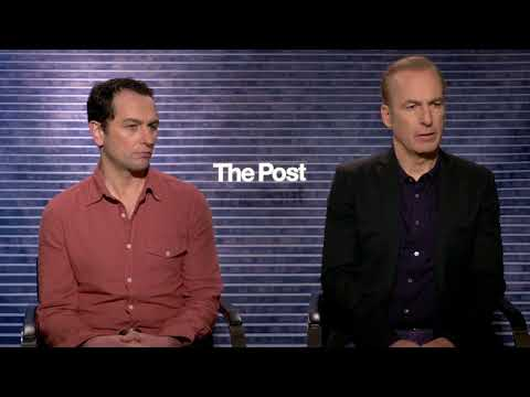 Bob Odenkirk Matthew Rhys interview The Post
