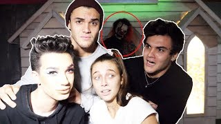 Video HAUNTED HOUSE ft. James Charles & Emma Chamberlain MP3, 3GP, MP4, WEBM, AVI, FLV November 2018