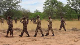 "Download Lagu Namibia Defence Force (NDF) firing riffles at Struggle Veteran Isak A Shoome ""Nangata"" funeral"" Mp3"
